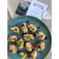 Food Blogger Lucy's Crab & Avo Bites