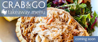 Coming soon - Crab&Go takeaway service