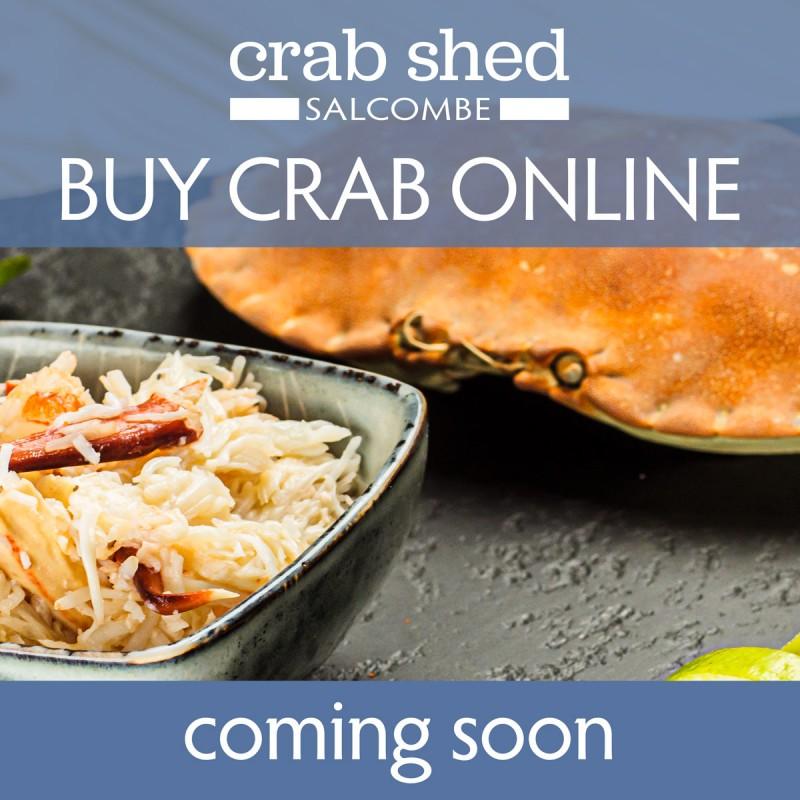 Buy crab online - coming soon.