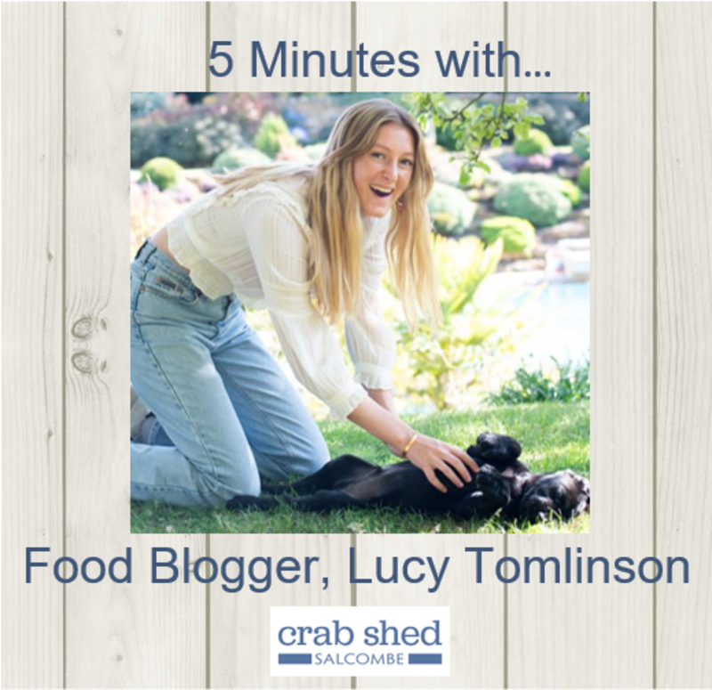 5 minutes with: Food Blogger, Lucy Tomlinson