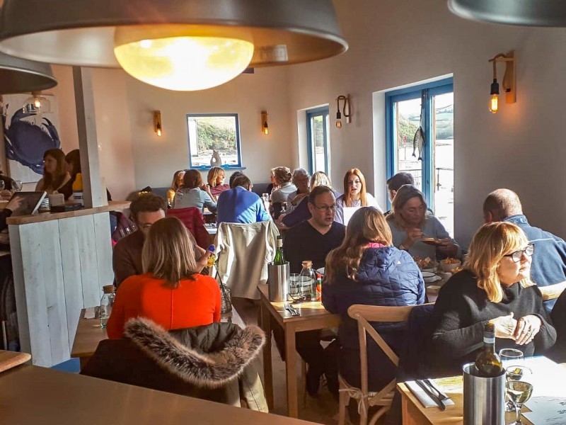 Crab Shed Salcombe is now open!