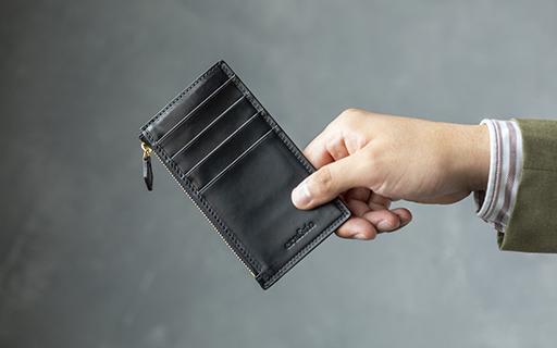 キャッシュレス財布 シェルコードバンフラグメントケース