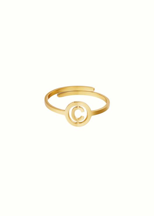 Initiaal ring C