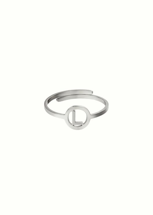 Initiaal ring L