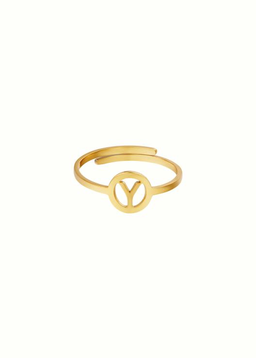 Initiaal ring Y