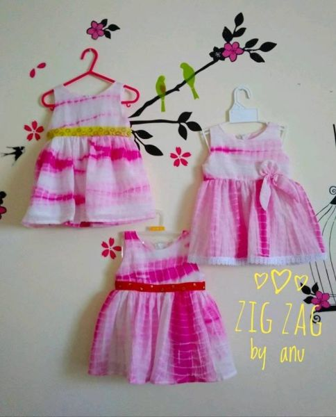 organic cotton frock for baby girl