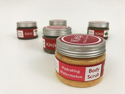 Kinza Hydrating Watermelon Body Scrub