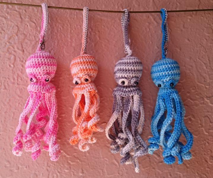 Go to Octopus bag charms