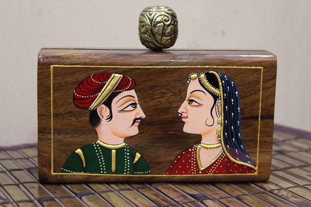 Hand made Sheesham wood with Indian Couple collection
