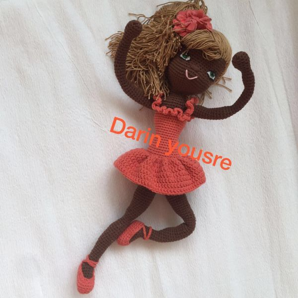 Chocolate doll