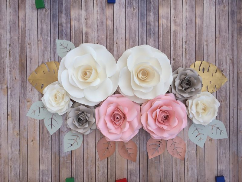 Go to 8 Roses Paper Flower backdrop