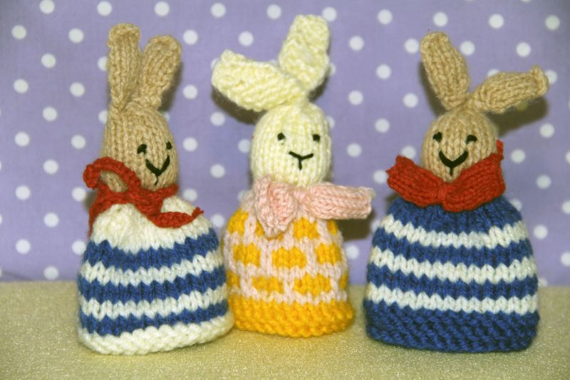 Go to knitted egg cosies