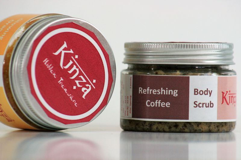 Kinza Refreshing Coffee Body Scrub