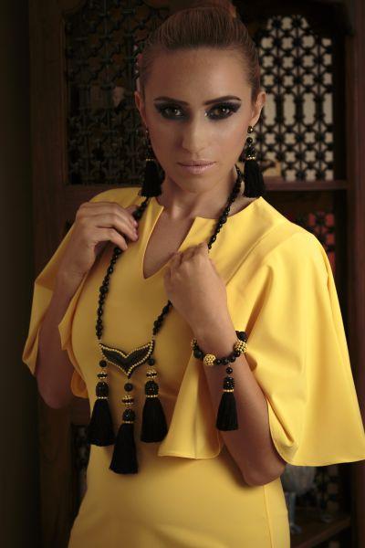Long Oriental Necklace