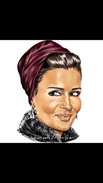 Personalized Custom Portrait Caricatures