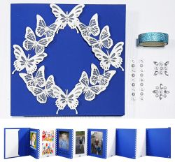 Go to Handmade Photobook with 3D Butterfly design
