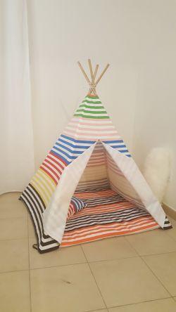 Go to Teepee Tent - Premium Rainbow