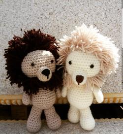 Go to Crochet lions