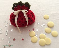 Go to Festive gift pouch - 12cm