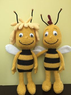 Go to Maya the bee and Willy