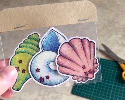 Go to Seashells Sticker Pack