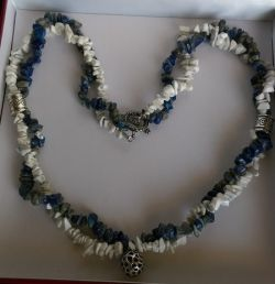 Go to Blue And White Necklace