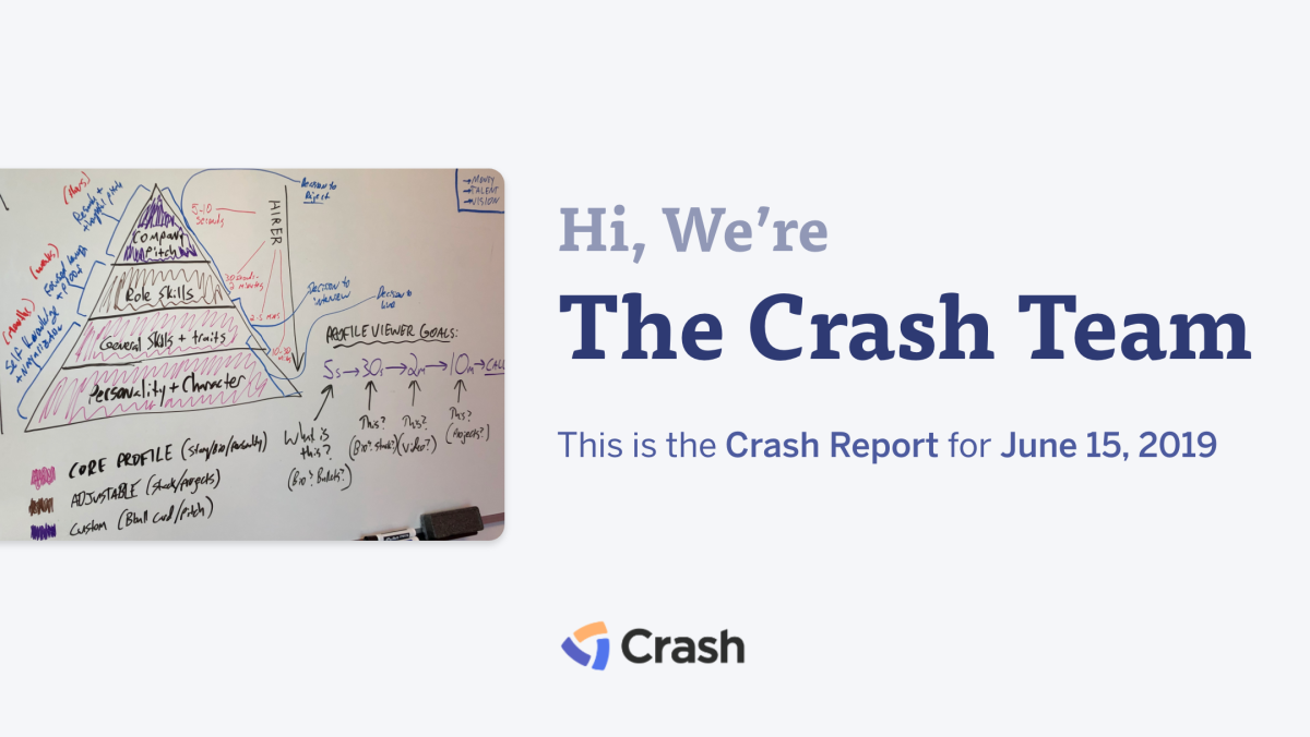 The Crash Report: June 15, 2019