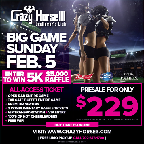 Superbowl Viewing Party Promo