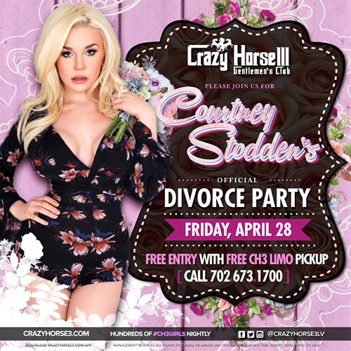 Courtney Stodden's<br/>Divorce Party