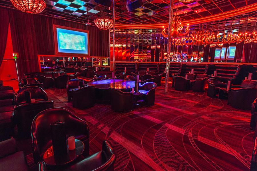 Inside Real Strip Club