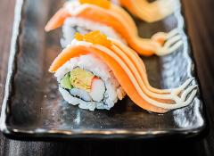 Amazing sushi and sashimi at Crazy Horse 3