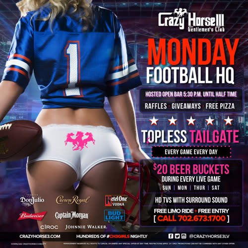 Best Place to Watch Monday Night Football in Las Vegas