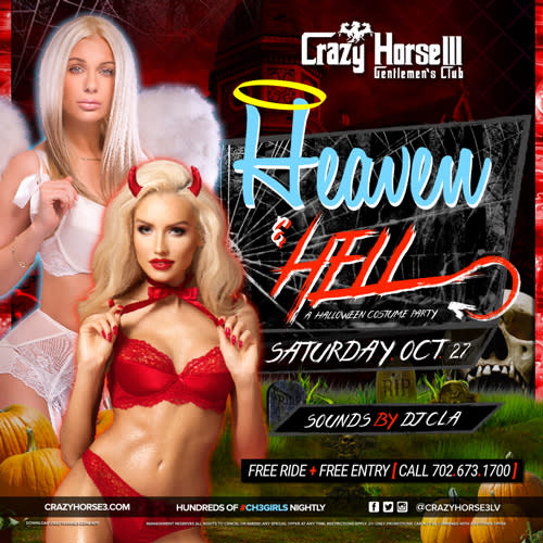 Heaven & Hell<br/>Halloween Costume Party