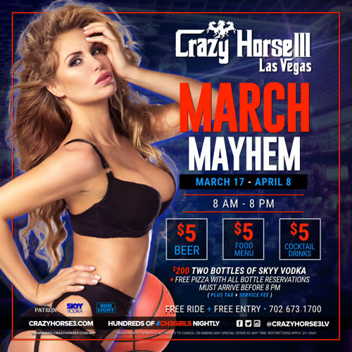 March Mayhem Is On