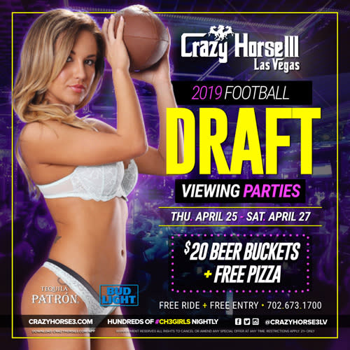 NFL Draft Party<br/>2019