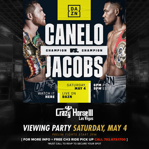 Fight Night Viewing Party