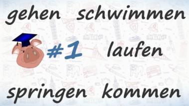 Неправильные глаголы немецкого языка, урок 1.