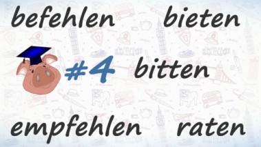Неправильные глаголы немецкого языка, урок 4.