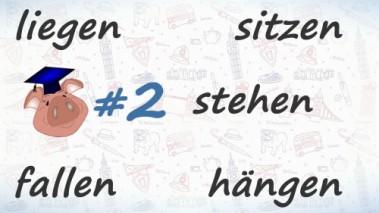 Неправильные глаголы немецкого языка, урок 2.