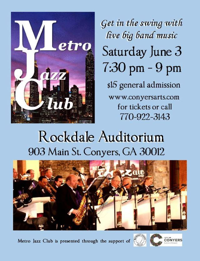 Tickets on sale metro jazz club conyers rockdale for Interno 1 jazz council