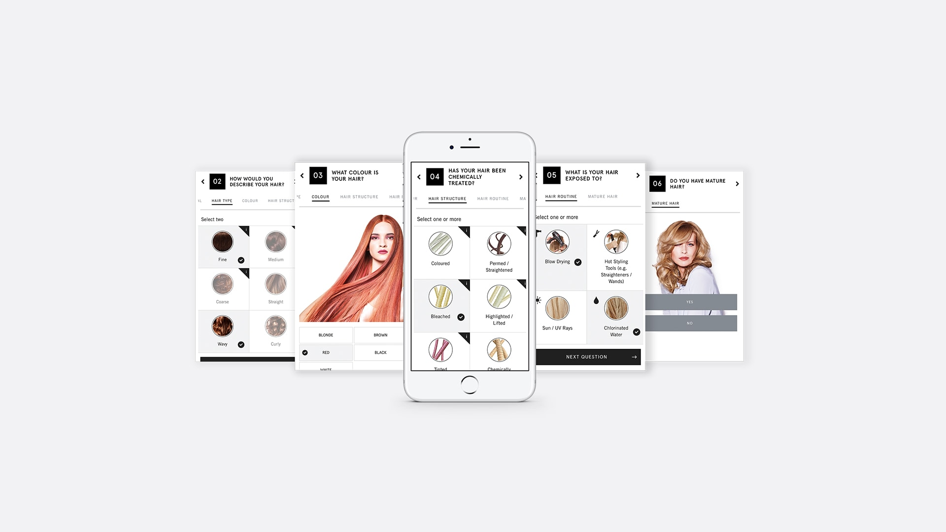 Hair expert mobile application development