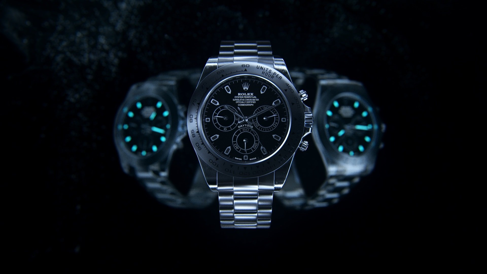 Rolex promotional 3d visual