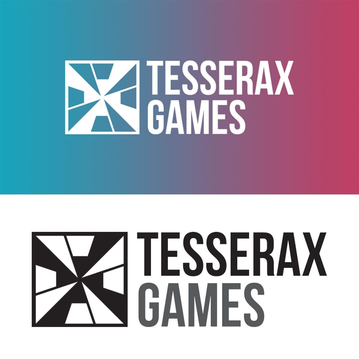 Tesserax ficticious company logo