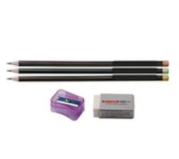 Requirements - Pencil, Eraser, Sharpener
