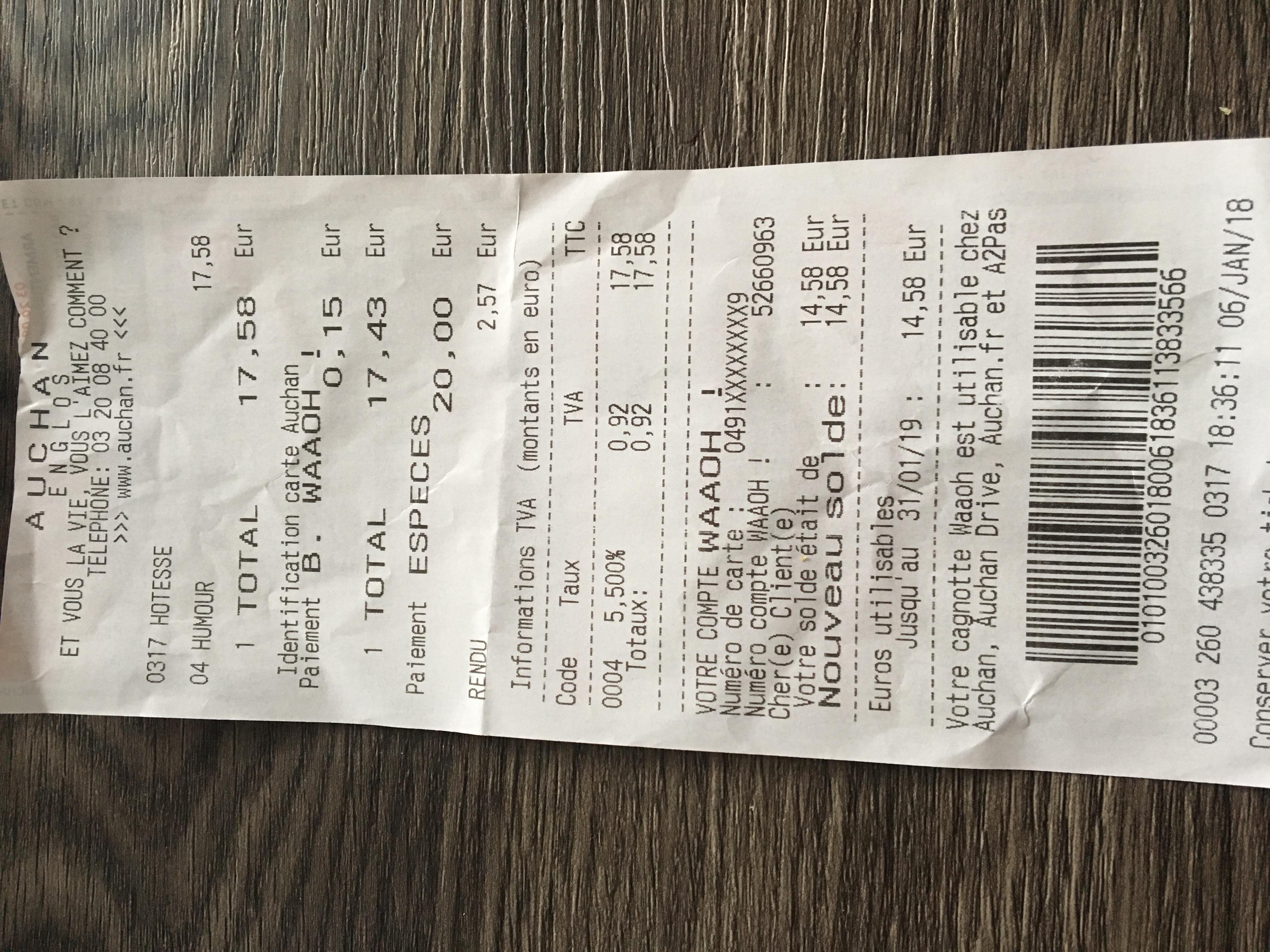 Identification Carte Auchan.Auchan Haubourdin Contactez Le Directeur
