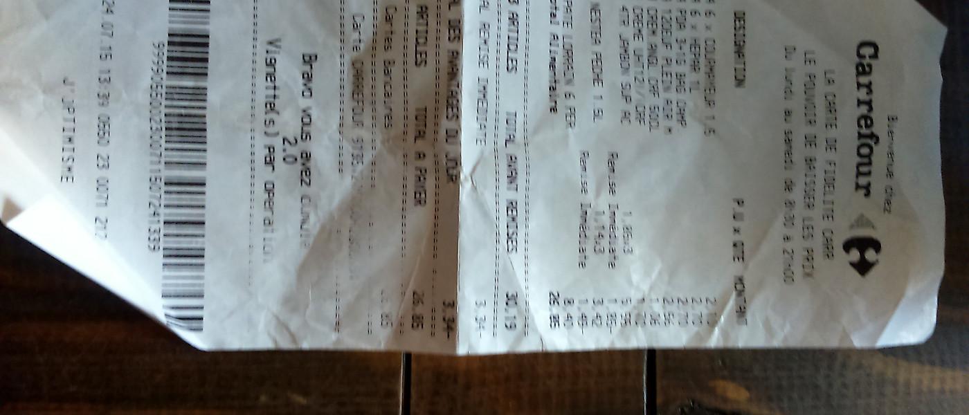Carte Carrefour Ticket De Caisse.Carrefour Epinal Jeuxey Contactez Le Directeur Page 39