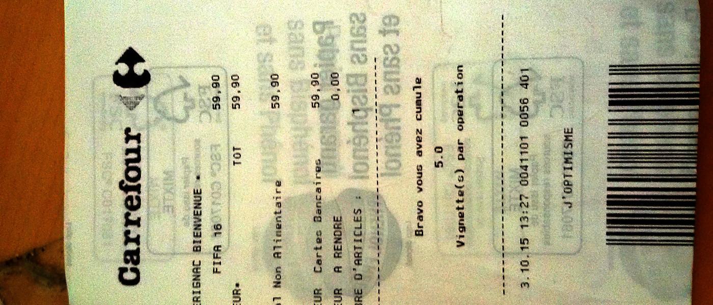 Carte Carrefour Ticket De Caisse.Carrefour Merignac Merignac Contactez Le Directeur Page 29