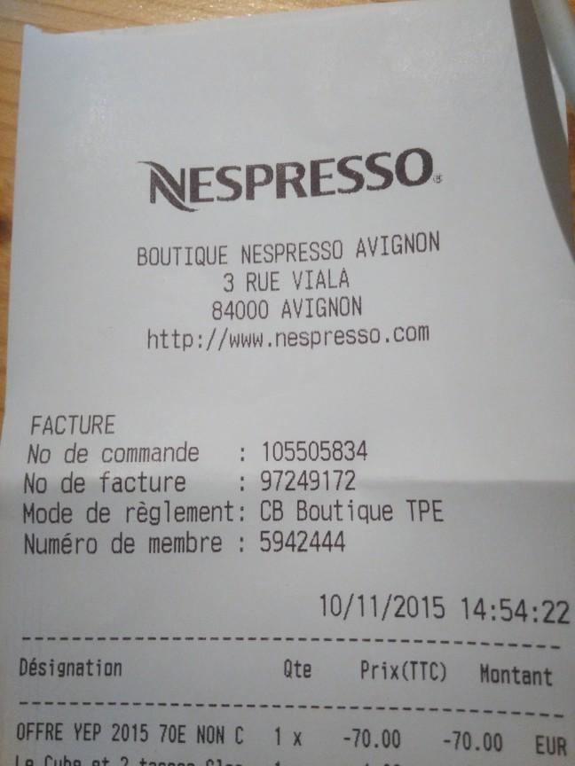 Nespresso Boutique - Avignon - Contactez le directeur !