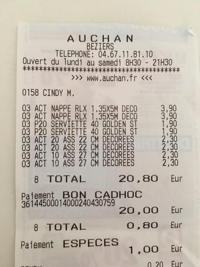 Auchan - Béziers - Contactez le directeur !