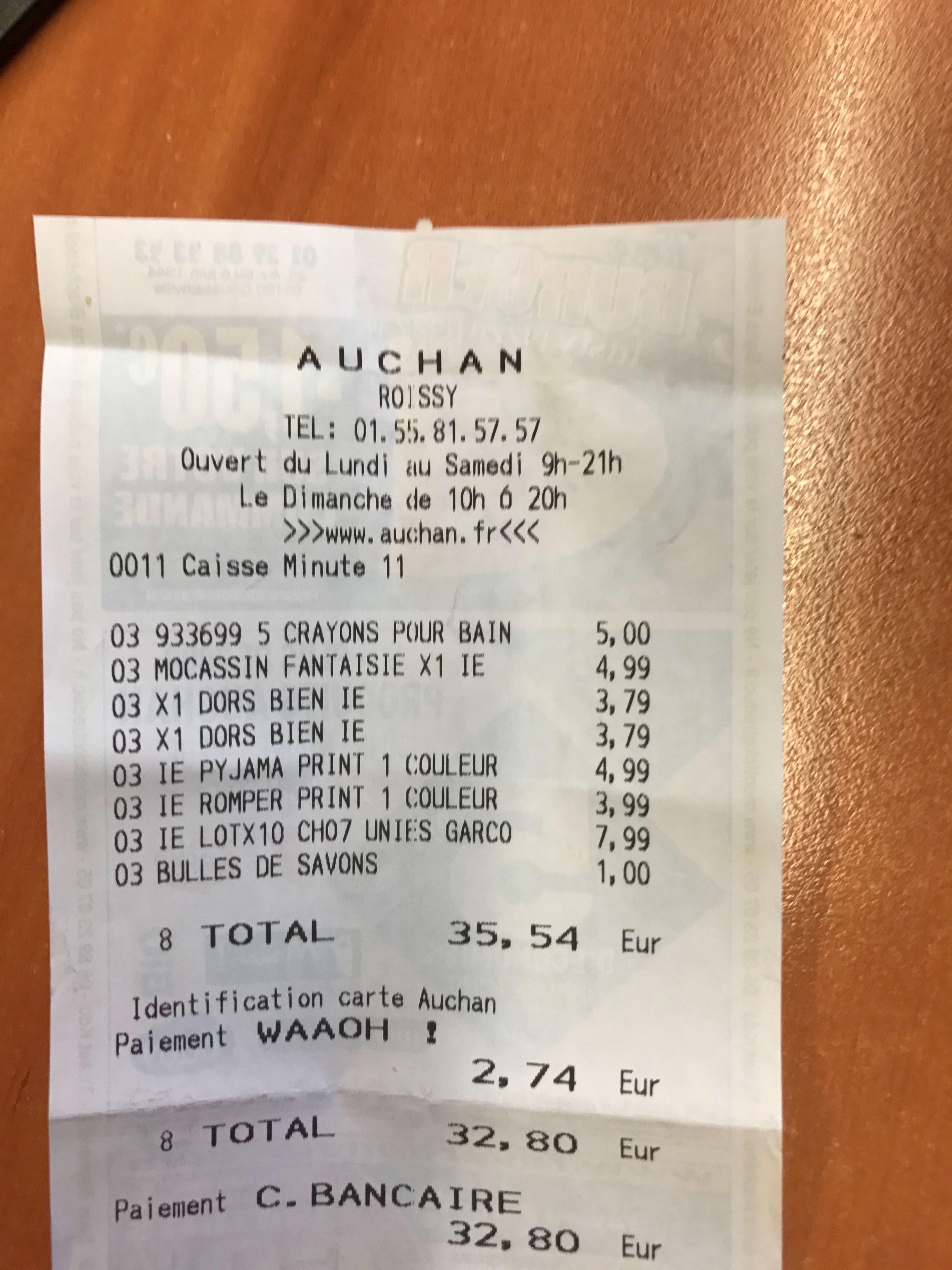 Carte Auchan Waaoh Perdu.Auchan Roissy En France Contactez Le Directeur